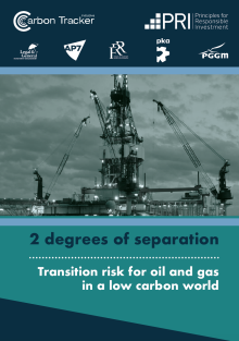 2 degrees of separation: transition risk for oil and gas in a low carbon world