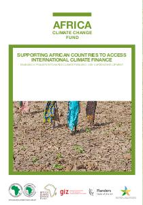 Africa climate change fund: supporting African countries to access international climate finance
