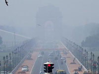 Air quality falls to 'hazardous' levels