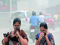Capital's air quality in 'moderate' category