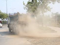 About 2000 kms of PMGSY roads, NH widening contributing to air pollution