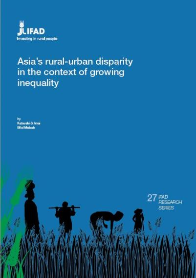 Asia's rural-urban disparity in the context of growing inequality
