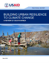 Building urban resilience to climate change: a review of South Africa