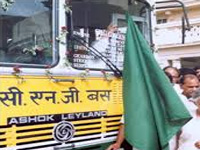 Manali-Rohtang CNG bus trial run successful