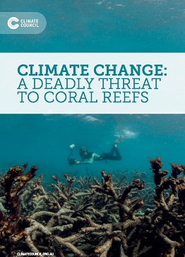 Climate change: a deadly threat to coral reefs