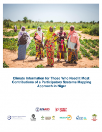 Climate information for those who need it most: contributions of a participatory systems mapping approach in Niger