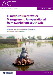 Climate-resilient water management: an operational framework from South Asia
