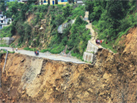 Fresh landslides block about 82 roads in Uttarakhand