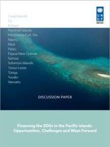 Financing the SDGs in the Pacific Islands: opportunities, challenges and ways forward