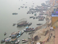 Penalty for urinating on Varanasi Ganga ghats now