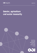 Gender, agriculture and water insecurity