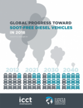 Global progress toward soot-free diesel vehicles in 2018