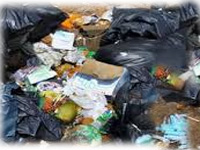 Household biomedical waste adds to hazards at landfill sites