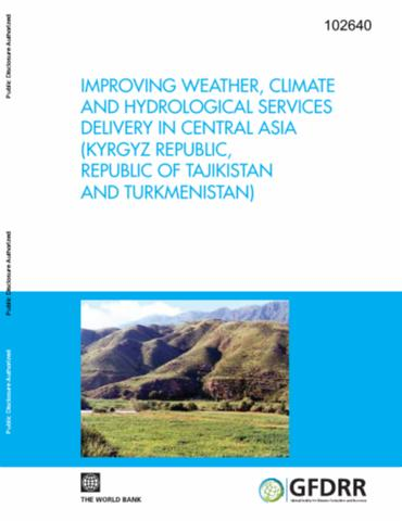 Improving weather, climate, and hydrological services delivery in Central Asia