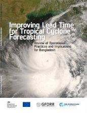 Improving lead time for tropical cyclone forecasting: review of operational practices and implications for Bangladesh