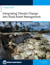Integrating climate change into road asset management