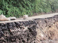 GSI surveys landslide-hit area of Darjeeling