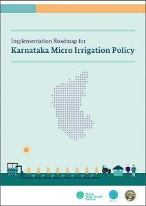 Implementation roadmap for Karnataka micro irrigation policy