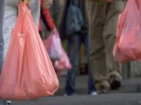Banned plastic bags flow from other dists
