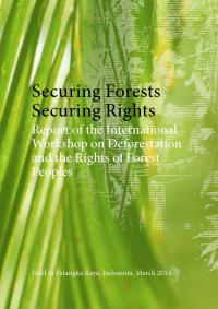 Securing forests, securing rights: report of the international workshop on deforestation and the rights of forest peoples