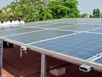 Government Headquarters Hospital in Erode gets solar panel