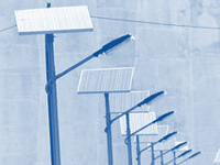 Solar streetlights to demonstrate use of clean energy