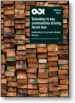 Subsidies to key commodities driving forest loss: implications for private climate finance