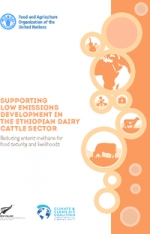 Supporting low emissions development in the Ethiopian dairy cattle sector:  reducing enteric methane for food security and livelihoods