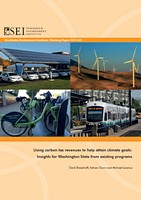 Using carbon tax revenues to help attain climate goals: Insights for Washington State from existing programs