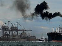 Unsafe cargo handling at ports polluting marine life
