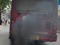 Outdated RTC buses on way to join list of major polluters