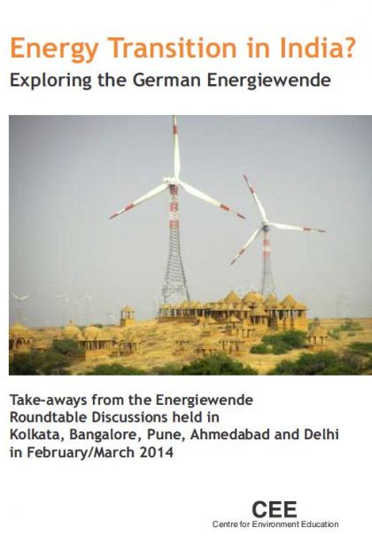 Energy transition in India?: exploring the German energiewende