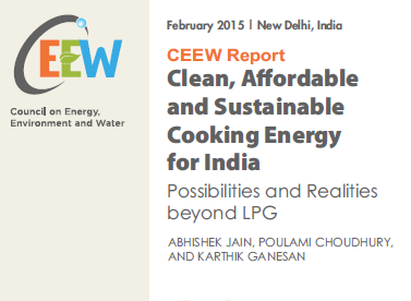 Clean, affordable and sustainable cooking energy for India: possibilities and realities beyond LPG