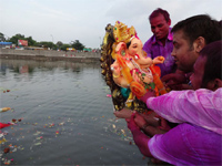 Ganesh festival leaves 50-tonne waste trail in Chennai