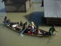Fresh flood submerges 50 villages