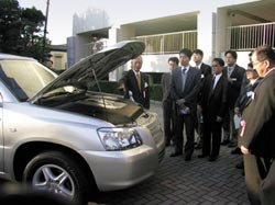 Fuel cell technology for cars