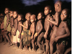 Pygmies stay short to live longer