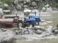 Attempt to force feed seer on fast to ban mining in Ganga