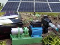 Solar power to pump water supply from Upper Lake
