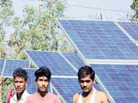 In first, Andhra to store solar energy for farmers