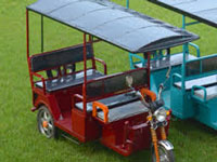 ABB India provides inverters for conversion of solar power for e-rickshaws