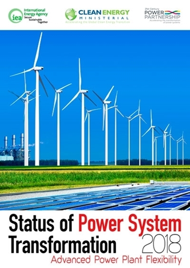 Status of power system transformation 2018