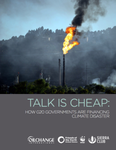 Talk is cheap: how G20 Governments are financing climate disaster